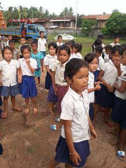 クチャウ小学校建設2-4