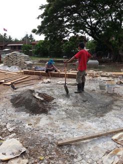 クチャウ小学校建設2-2