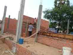 クチャウ小学校建設5-3