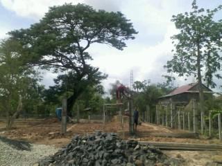 トロパントム小学校図書館建設3