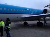 オランダからの乗換機