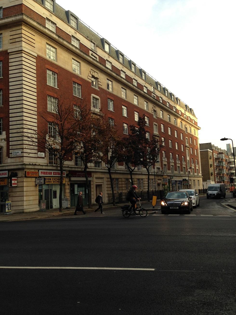 ロンドンの街並み1