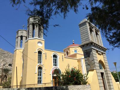 ペディビーチ直前の教会