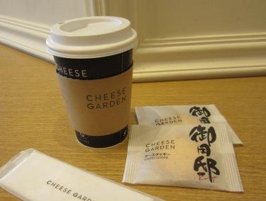 東京スカイツリーでお茶