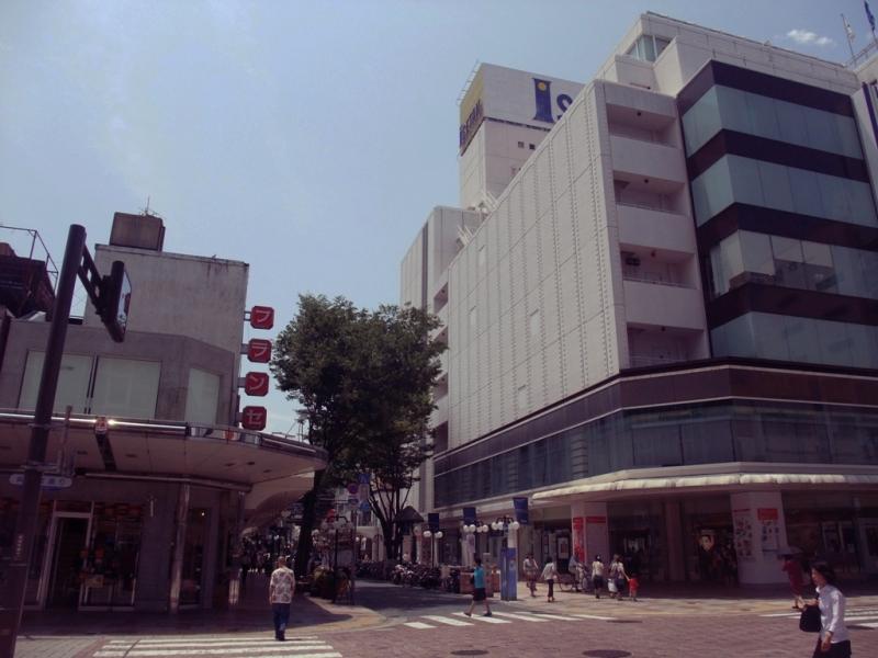 札の辻交差点静岡市