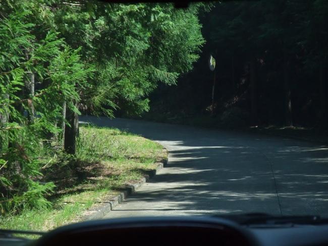 青崩峠の未通区間