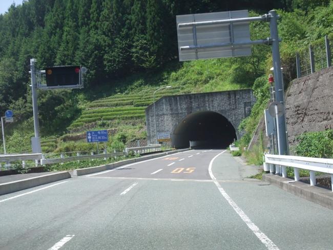 草木トンネル国道152号青崩峠レポート2013