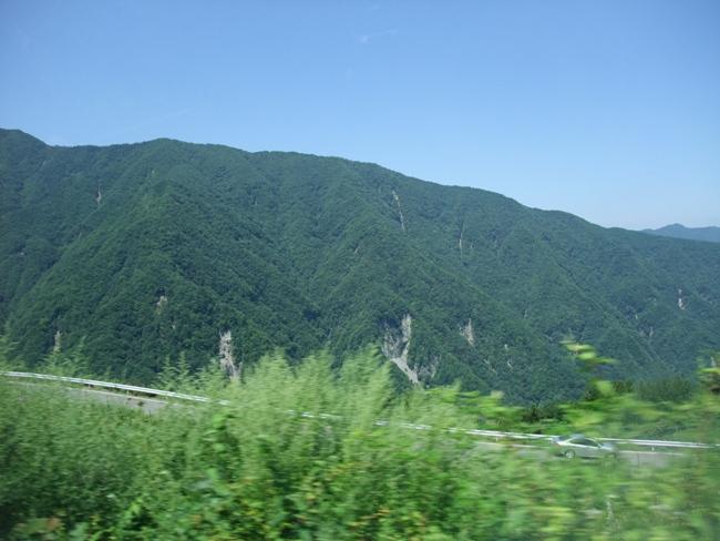 国道152号青崩峠レポート2013