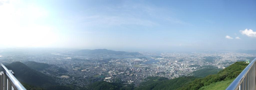 皿倉山パノラマ