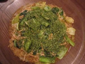 チンゲン菜のミラノ・ド・グリル_convert_20131009225701