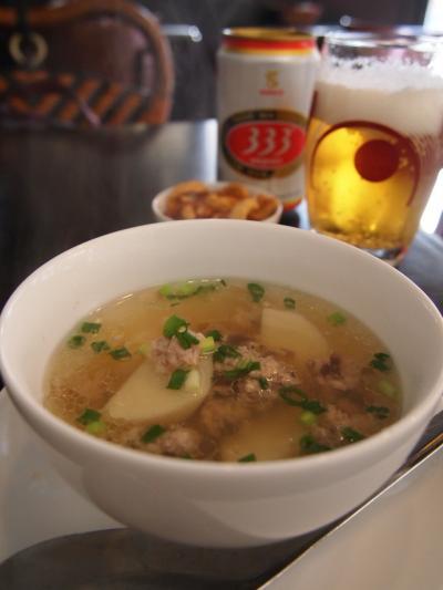 スープ(ツバメおこわ)