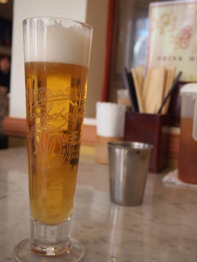 ビール(海南鶏飯)