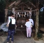 真名井神社の本殿