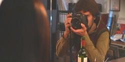 フレアの写真を撮るジャン
