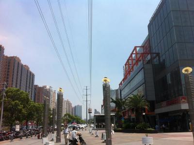 上海の夏は暑過ぎ