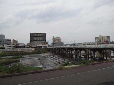 レヴェル前の河川
