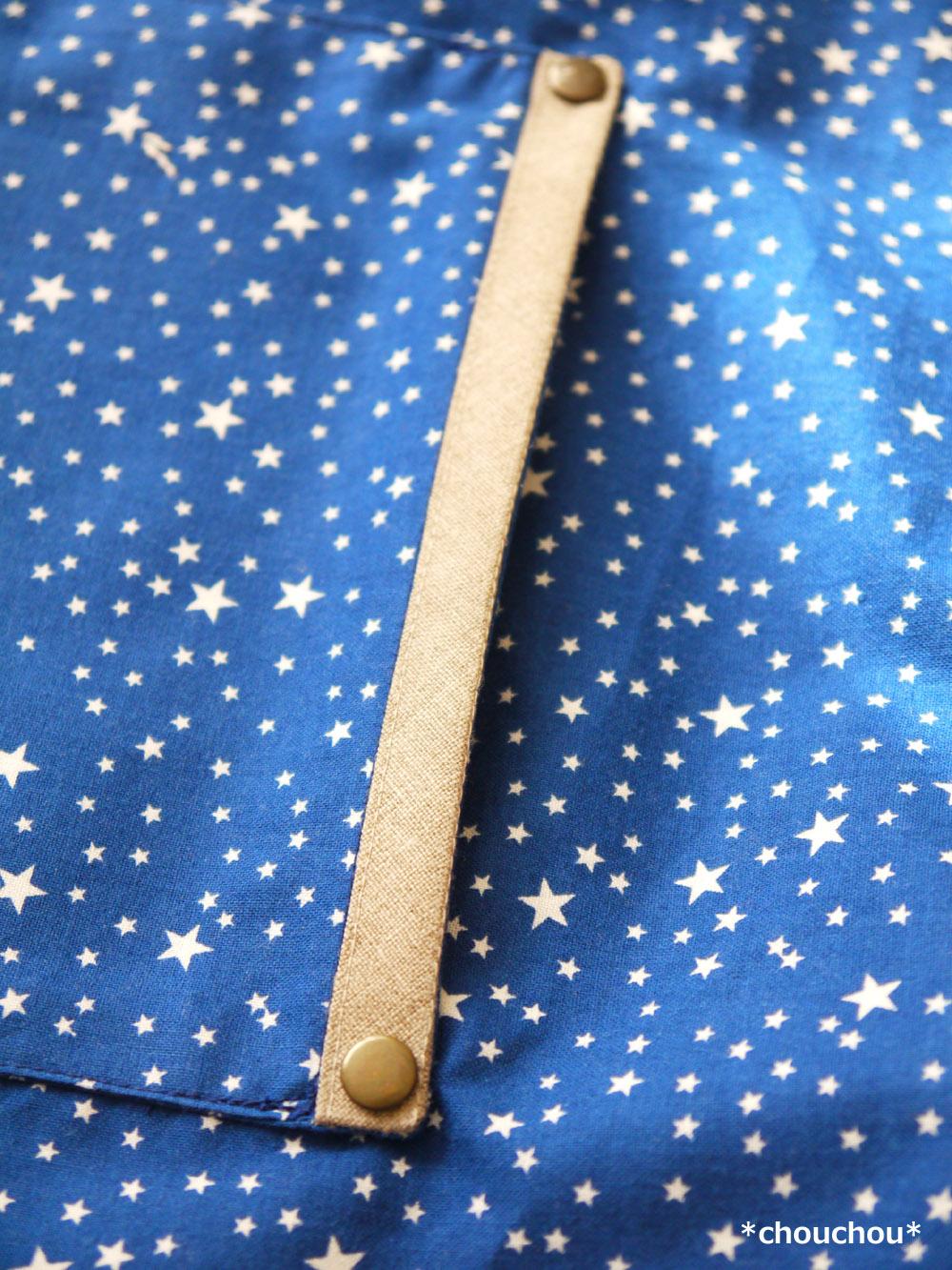 星のgardenエプロン カシメ