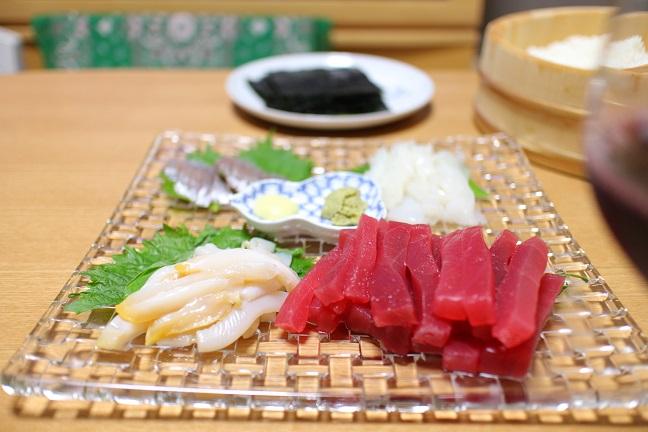 20130729手巻き寿司