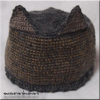 猫耳付き帽子012