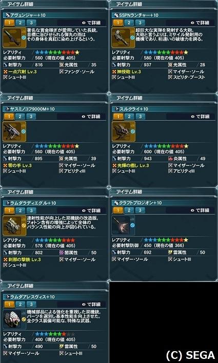 RaGu武器