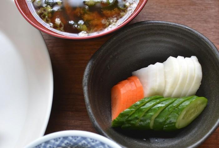 鰆の塩焼き(糠漬けのある食卓