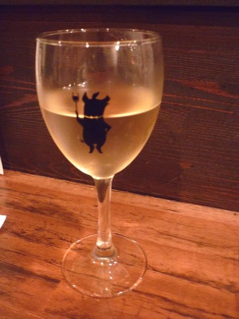白ワインお替り