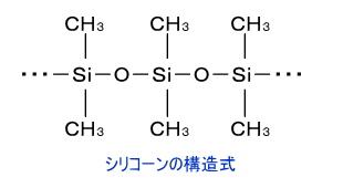 シリコーンの構造式