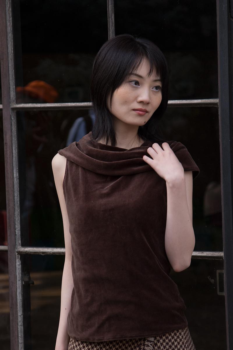 2006年2月の小野由美子さんです....