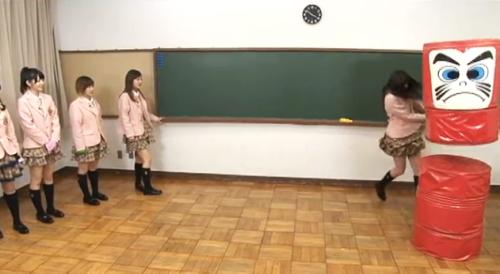 舞美ちゃんフルスイング!