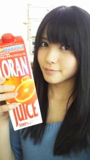 やじさんの好きなオレンジジュースが・・・