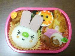キャラ弁総集編⑤7.31(水)ウサギ