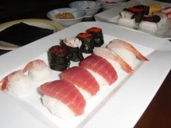 母の日。手作り寿司