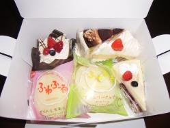 母の日。ケーキ