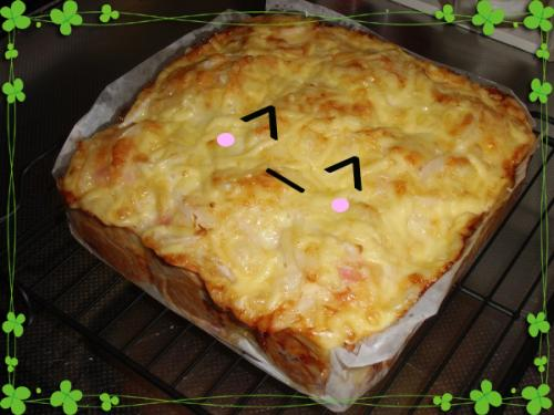 オニオンチーズパン完成①