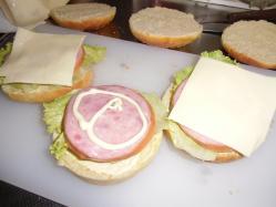 ハンバーガー①