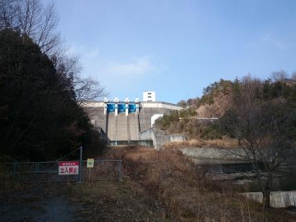 2014/1/22 大川瀬ダム