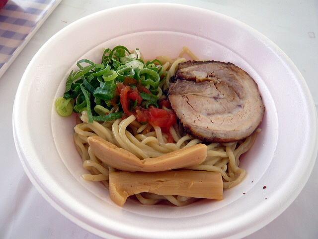 金久右衛門 イベント@カレーまぜ麺 1