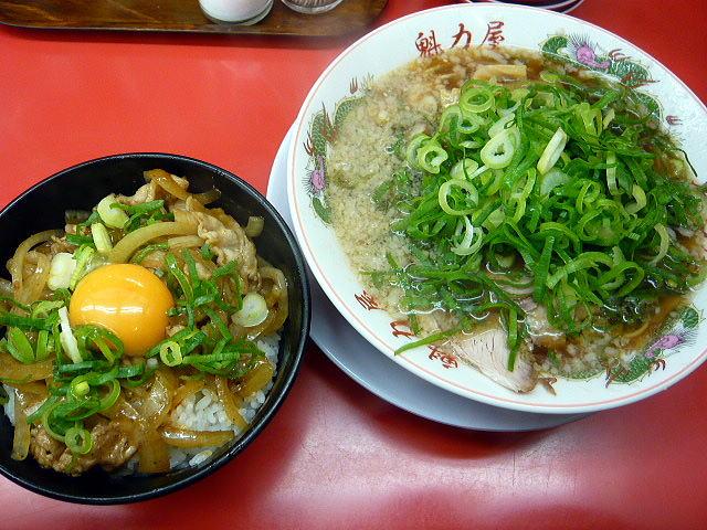 ラーメン 魁力屋 堺新金岡店@01スタミナ丼定食 1