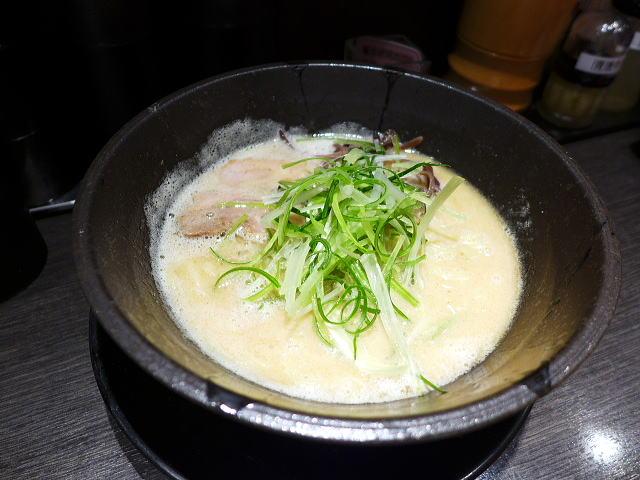 鶏白湯ラーメン ちらん 京橋店@01濃鶏白湯ラーメン 1
