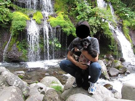 吐竜の滝②