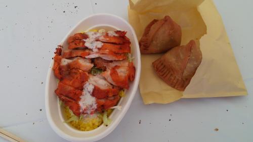 ④タンドーリチキン丼・サモサDCIM2009