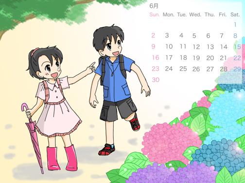 カレンダー6月4:3カ(変換後)