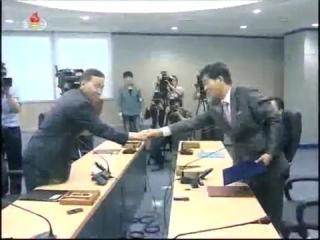 록화보도] 개성공업지구정상화를 위한 제7차 북남당국실무회담 진행mp4_000024208