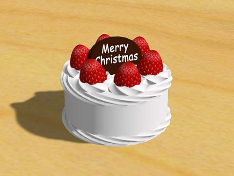 極小ケーキ