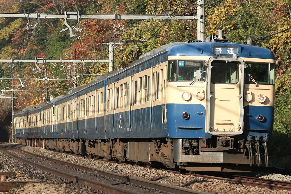 115系 M4編成ほか 2014 11/30