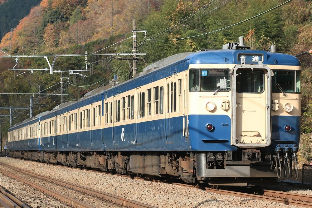 115系 M6編成ほか 2014 11/30