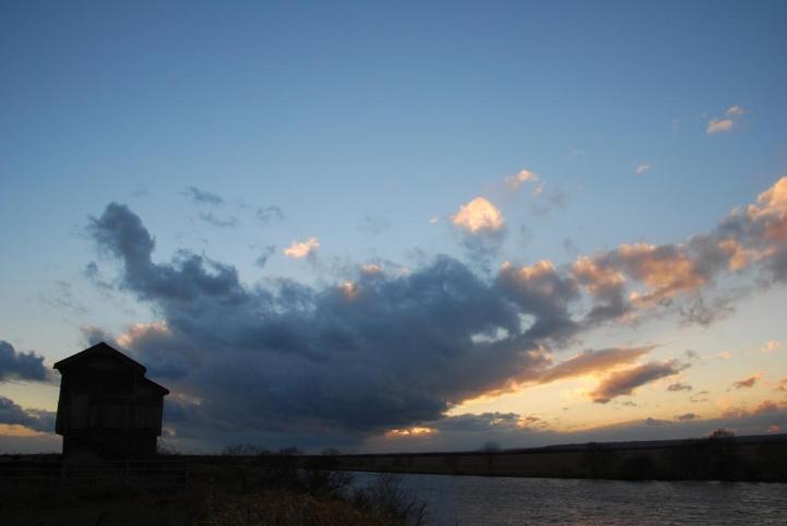 釧路湿原の岩保木水門付近
