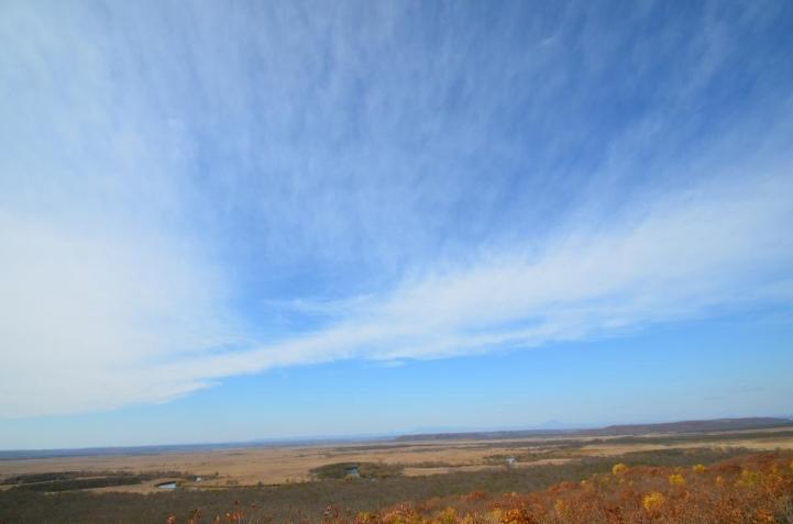釧路湿原 細岡展望台から