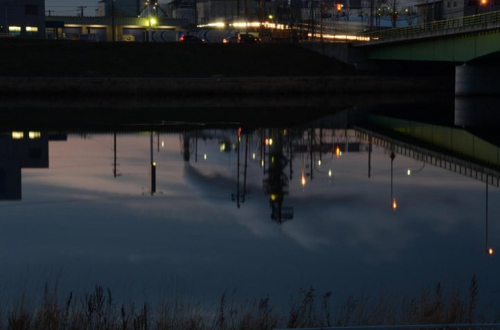 新釧路川河口