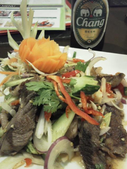 牛肉サラダ バンコクキッチン